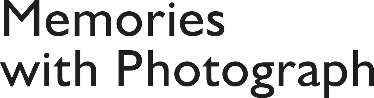 Memories with Photograph